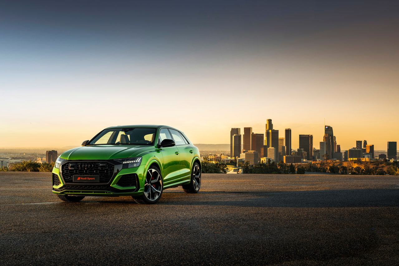 The sportiest Q: the new Audi RS Q8