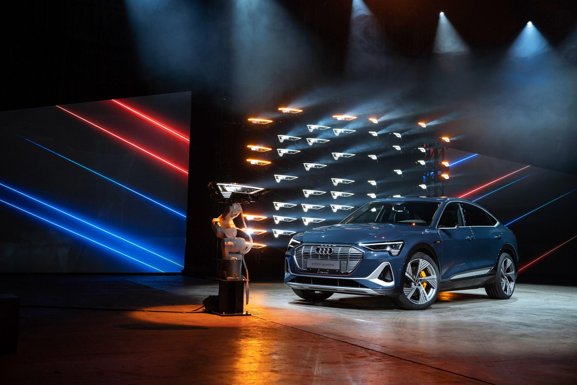 Audi e-tron Sportback – electric goes Sportback