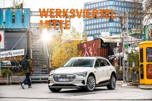 Audi engagiert sich nachhaltig im Münchner Werksviertel