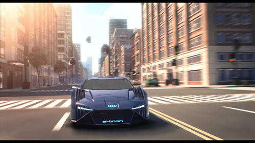 Audi teams up with Twentieth Century Fox on 'Spies in Disguise' digital content ahead of film premiere