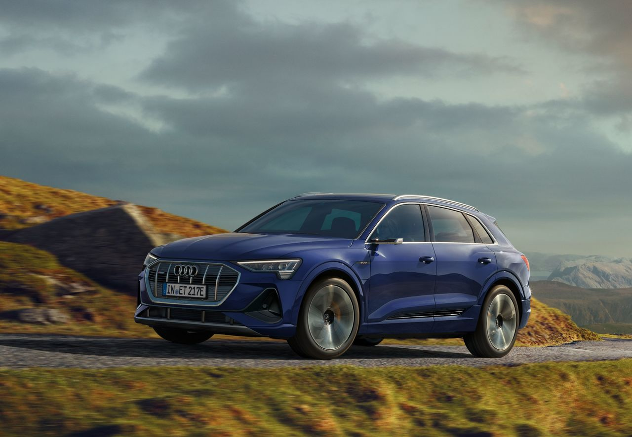 Better efficiency and longer range: technical update for the Audi e-tron