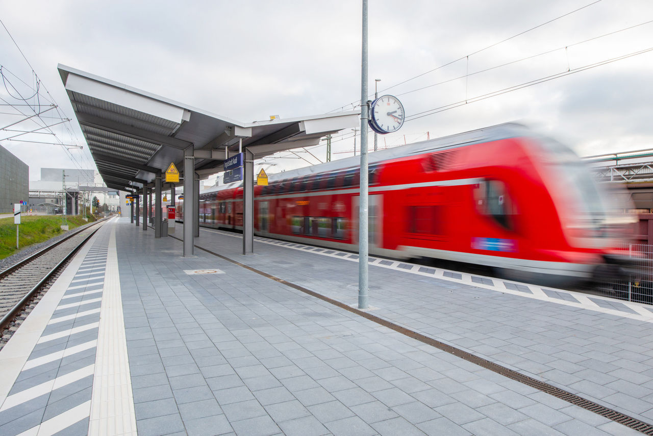 "Riding the Train Directly to Work:  New ""Ingolstadt Audi"" Train Station"