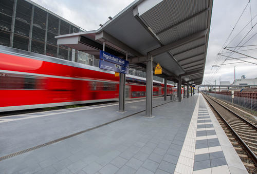 "Train Station ""Ingolstadt Audi"" (Opening December 2nd, 2020)"