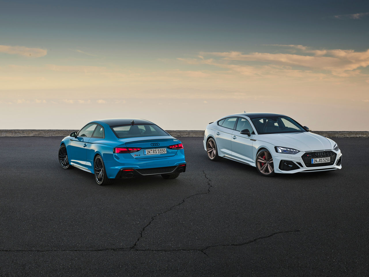 Refined: Update for the RS 5 Coupé ||and RS 5 Sportback