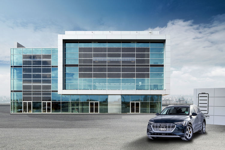 Showcase of Sustainability: The Audi Brand Experience Center at Munich Airport