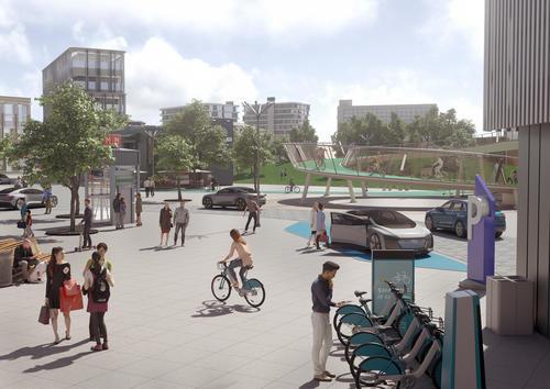 """Audi-Studie """"25. Stunde – Flow"""": Kein Stau in der Stadt der Zukunft"""