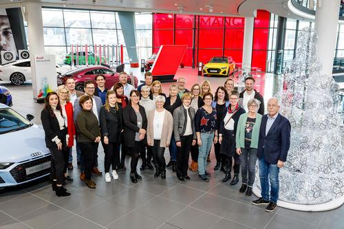 Audi-Belegschaft spendet 285.000 Euro für Bedürftige in der Region