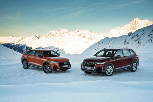 Audi Q3 Sportback und Audi Q7
