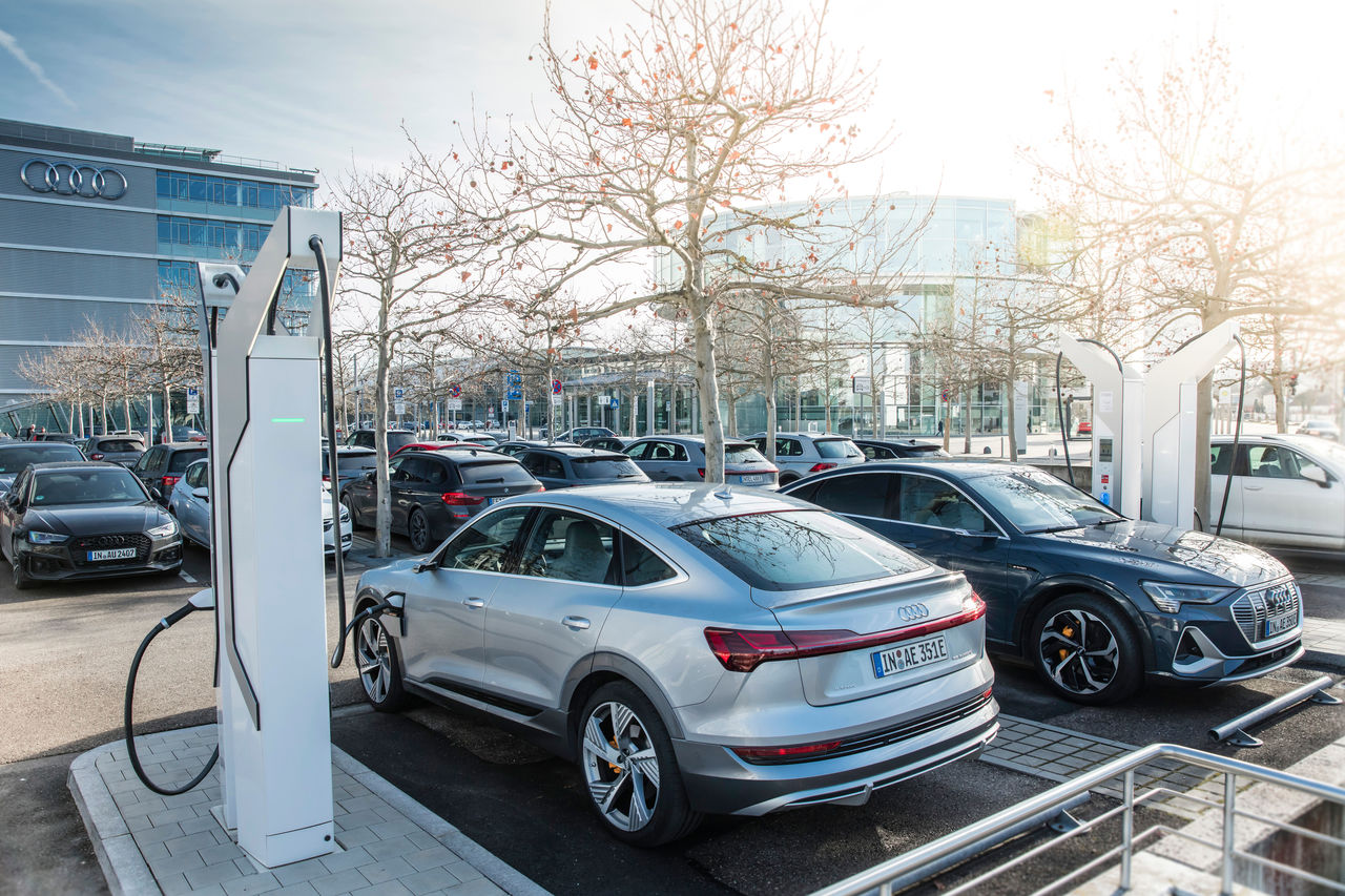 Audi invests around EUR 100 million in charging infrastructure at own sites