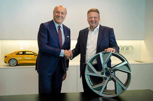 Audi and Cromodora: cooperation for a sustainable and cost-effective wheel plant