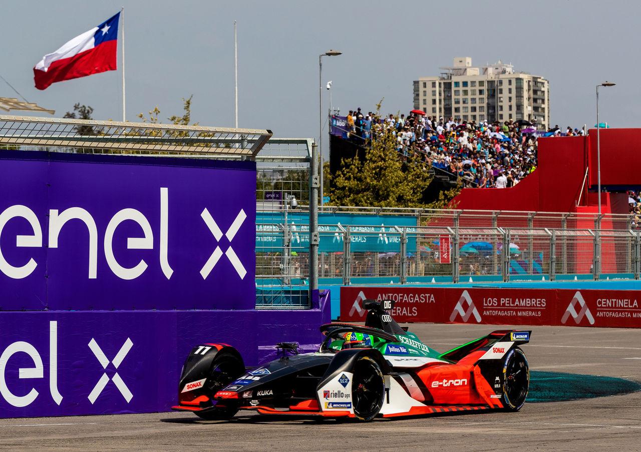 Audi driver di Grassi thrills with comeback drive