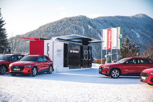 Audi beim Weltwirtschaftsforum in Davos