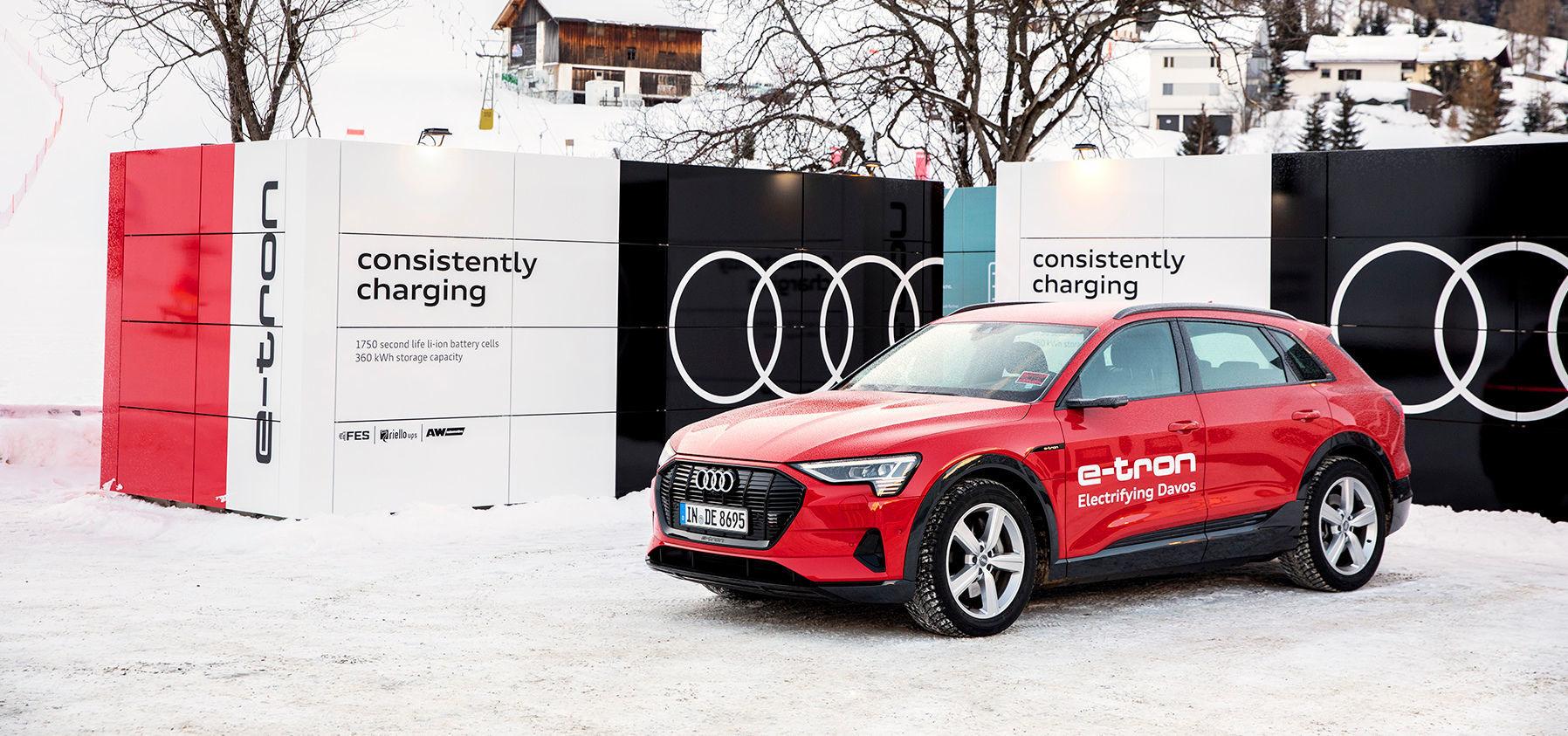 Audi at the World Economic Forum in Davos 20