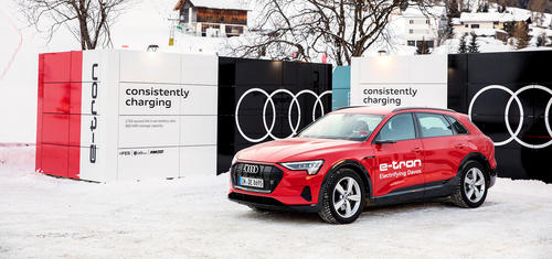 Audi at the World Economic Forum in Davos 20