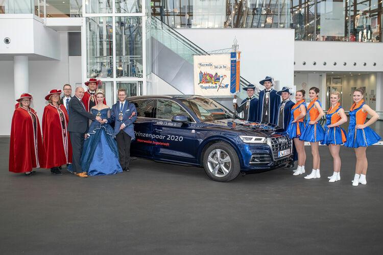 Prinzenpaar der Narrwalla fährt Audi Q5
