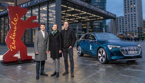 Audi und Berlinale präsentieren spannungsgeladene Auftritte und zukunftsweisende Perspektiven am Roten Teppich