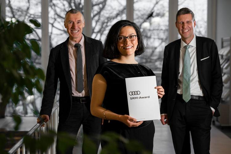 Audi-Umweltstiftung ehrt Nachwuchsdenkerin für Masterarbeit über Umgang mit Klimawandel