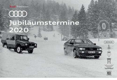 Audi Jubiläumstermine 2020