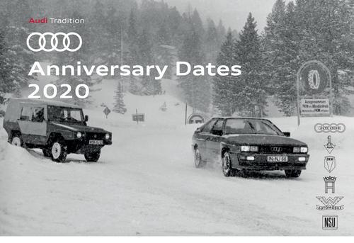 Audi Anniversary Dates 2020