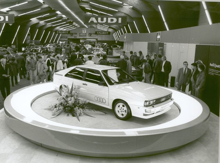 Audi Tradition celebrates 40 years of quattro