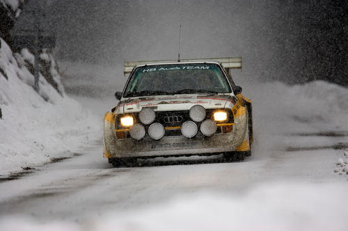 Audi Tradition feiert 40 Jahre quattro