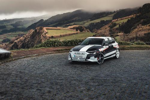 Audi A3 Sportback Prototyp Covered Drive