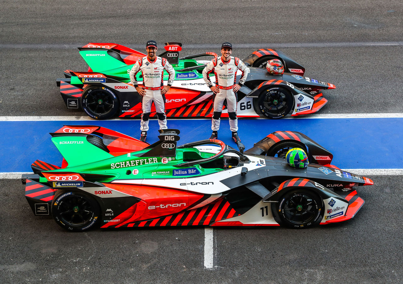 Audi starts with Formula E in Africa