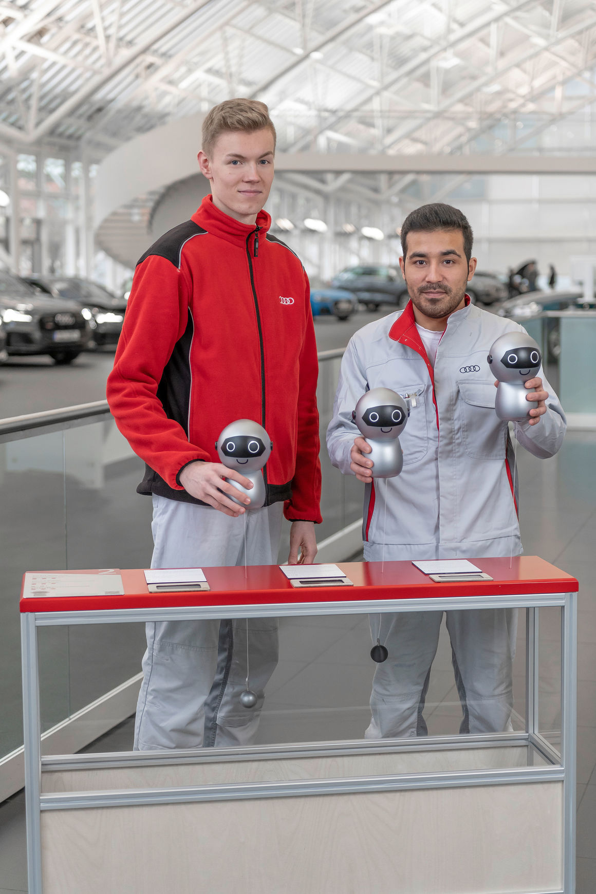ADUI-Expedition im Audi Forum Ingolstadt:  Audi-Azubis gestalten Mitmachaktion für Kinder