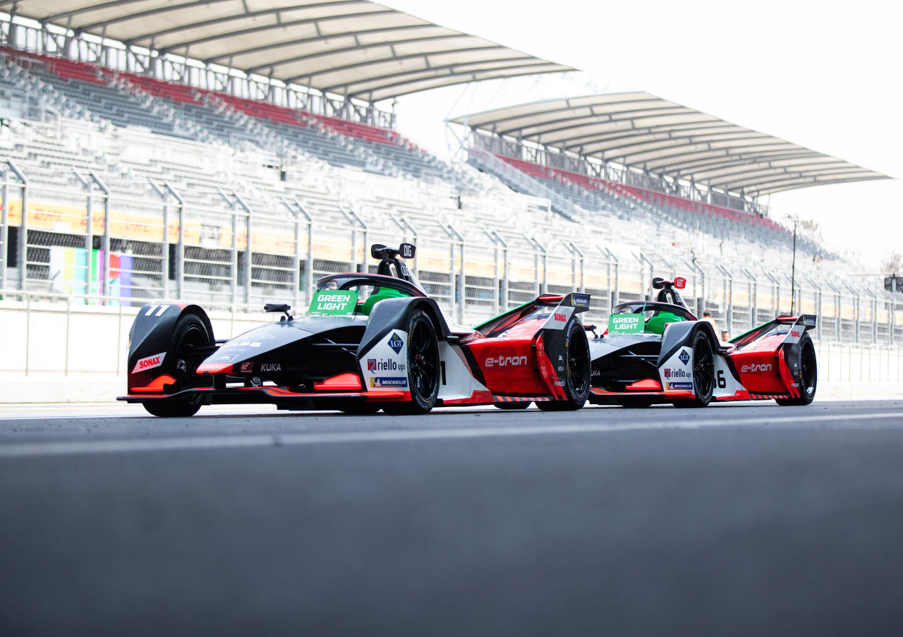 Two youngsters test for Audi in Formula E