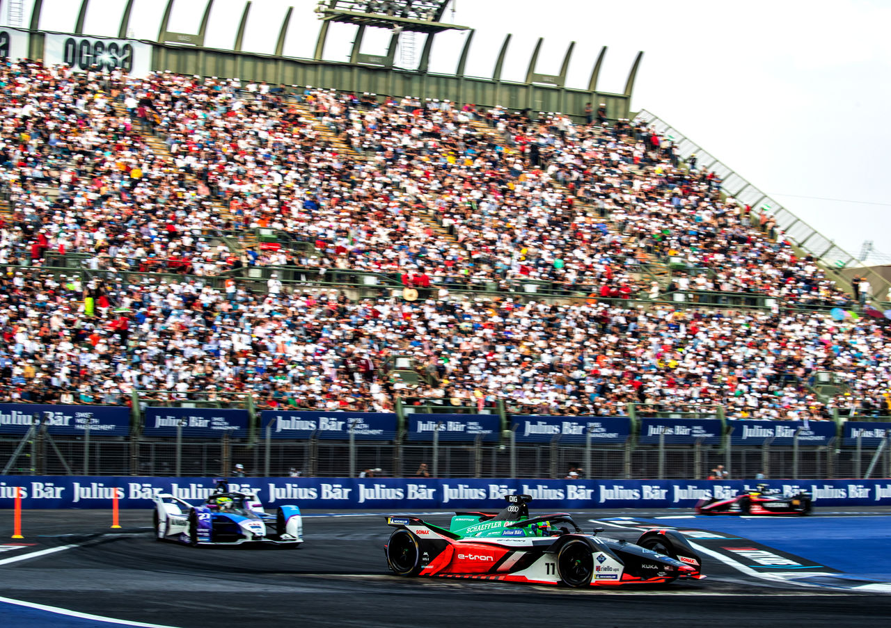 Turbulent day for Audi in Formula E in Mexico