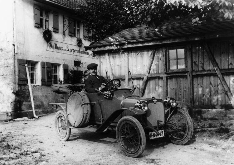 Wanderer W3, 5/12 hp, four-cylinder inline engine, 1.2 litres, 12 hp.