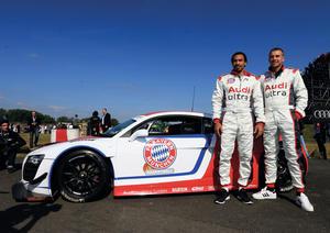 Motorsport Newsletter 36/2012: Basketball players visit DTM