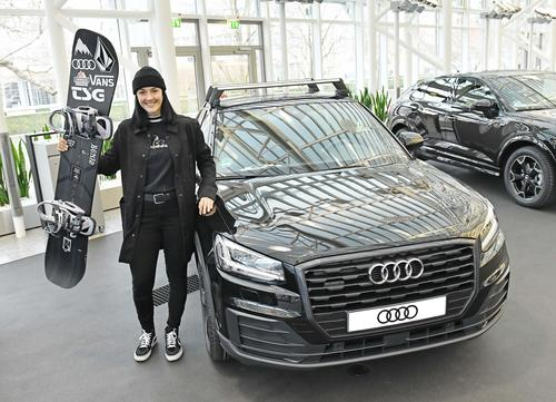 New cars for the Audi Nines athletes
