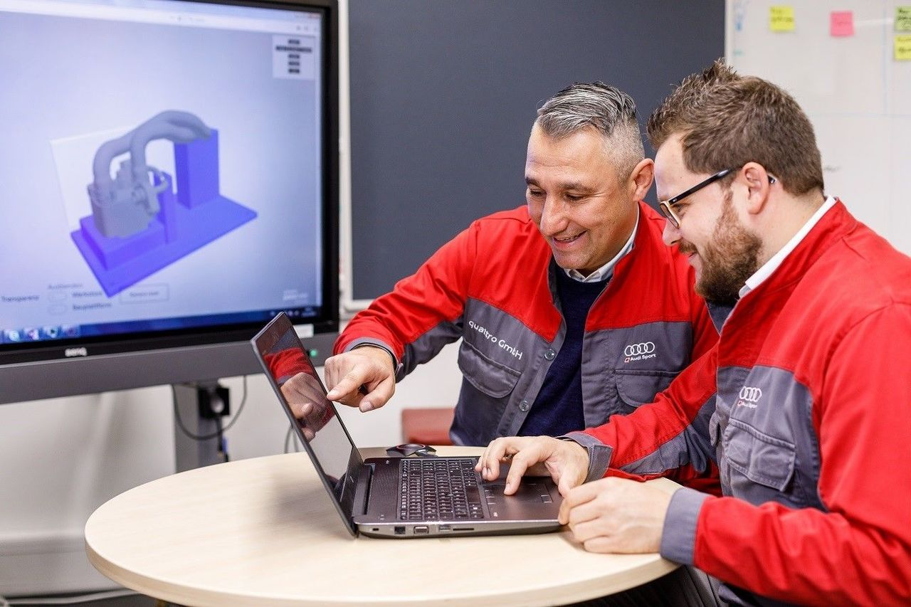 Audi Demonstrating 3D Printing Expertise with In-House Design Software in Neckarsulm