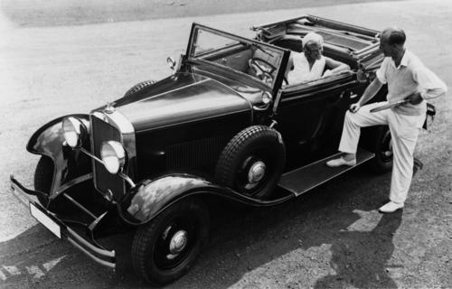 Wanderer W11, sports convertible, 2.5 litres, six-cylinder inline engine, 50 hp.