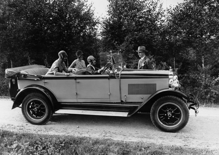 Wanderer W11, open touring car, six-cylinder inline engine, 2.5 litres, 50 hp.