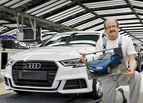 Generationswechsel: Produktionsstart des neuen Audi A3 Sportback in Ingolstadt