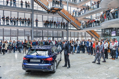 Generational change: Start of production of the new Audi A3 Sportback in Ingolstadt.