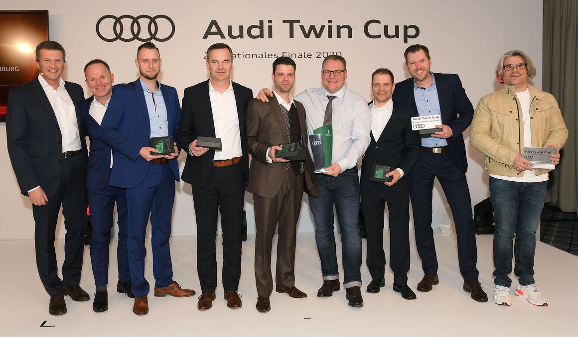 Fit für nachhaltige Premium-Mobilität: Audi Zentrum Berlin Charlottenburg siegt bei deutscher Audi Servicemeisterschaft 2020