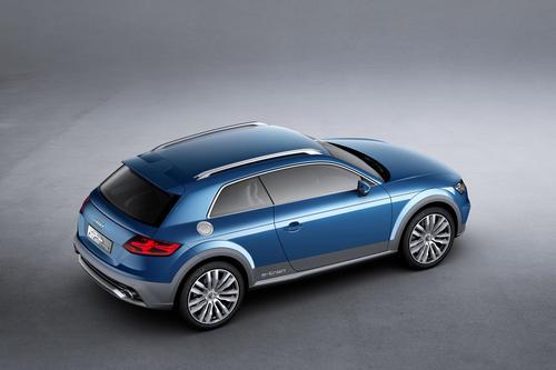 Audi allroad shooting brake