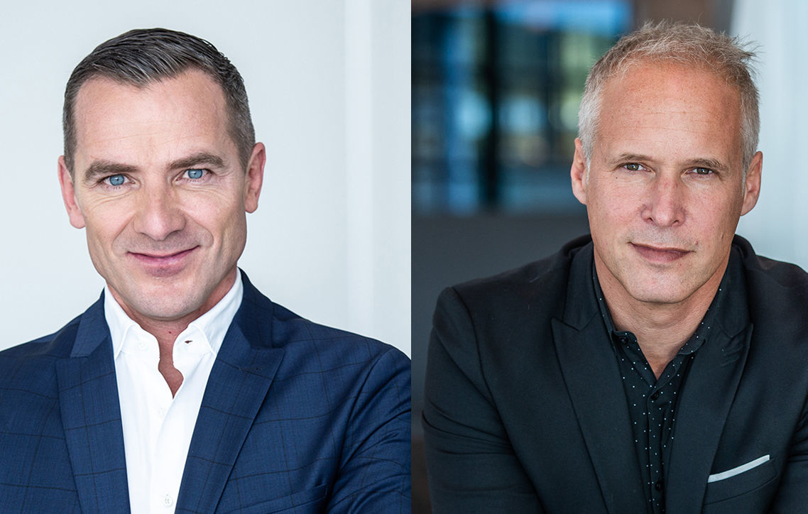 Henrik Wenders is responsible for the Audi brand, Sven Schuwirth focuses on the Digital Business of the Four Rings