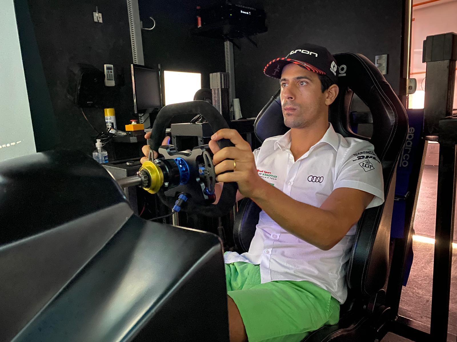 Formula E Race at Home Challenge