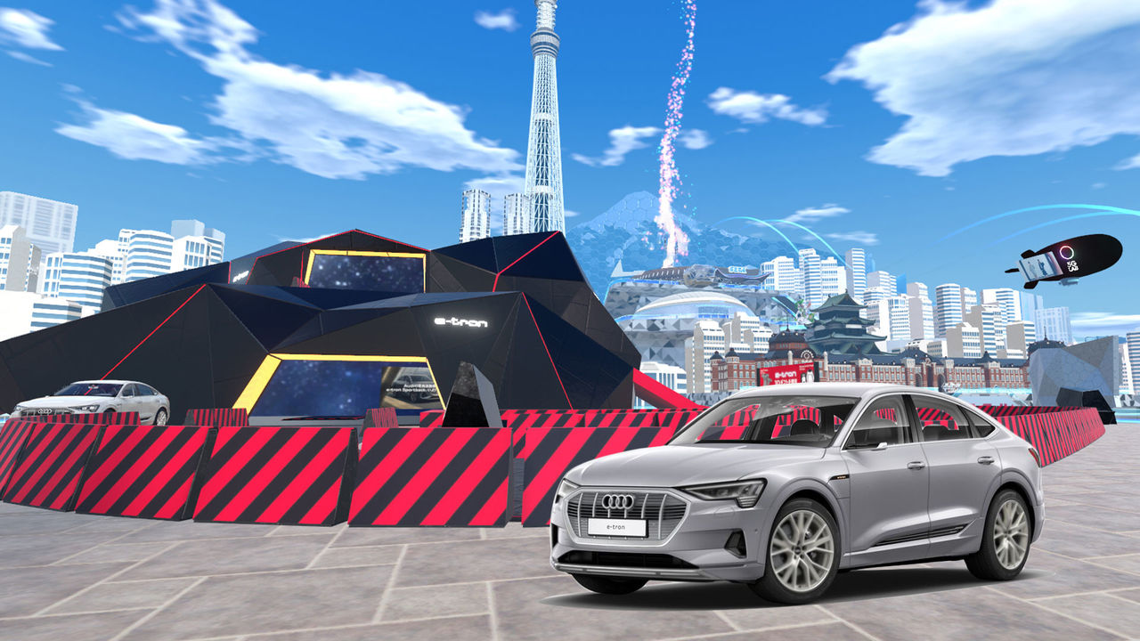 Audi e-tron Sportback conquers the virtual world