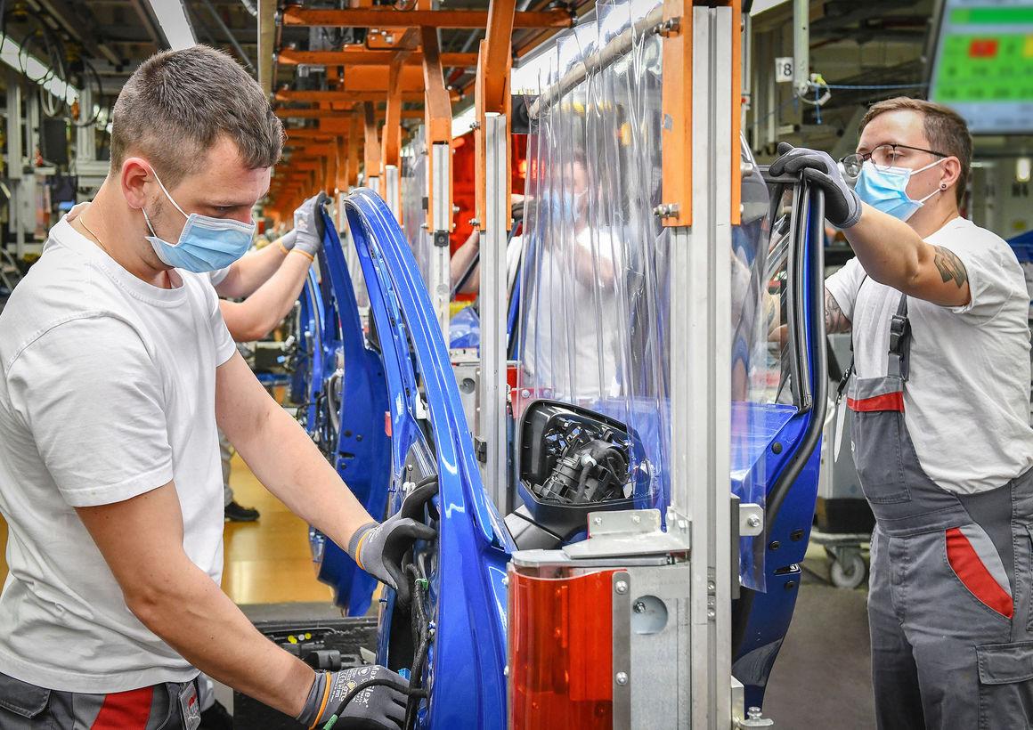 Restart of production at Audi in Ingolstadt