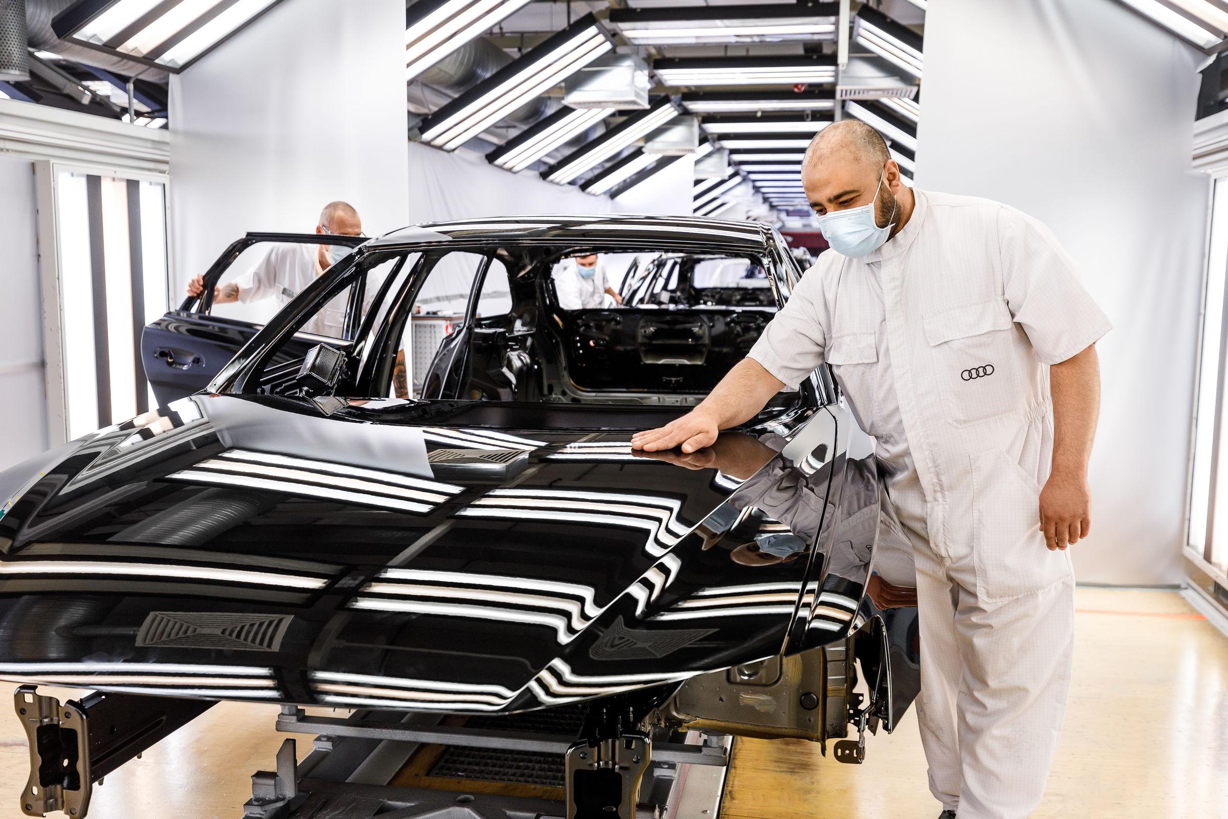 Fahrzeugproduktion am Audi-Standort Neckarsulm läuft wieder an