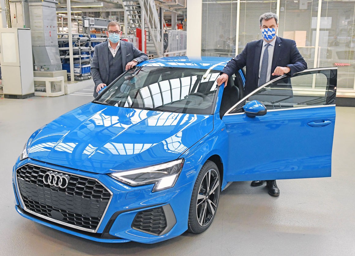 Markus Söder besucht Audi: Schutzmaßnahmen überzeugen Bayerns Ministerpräsidenten