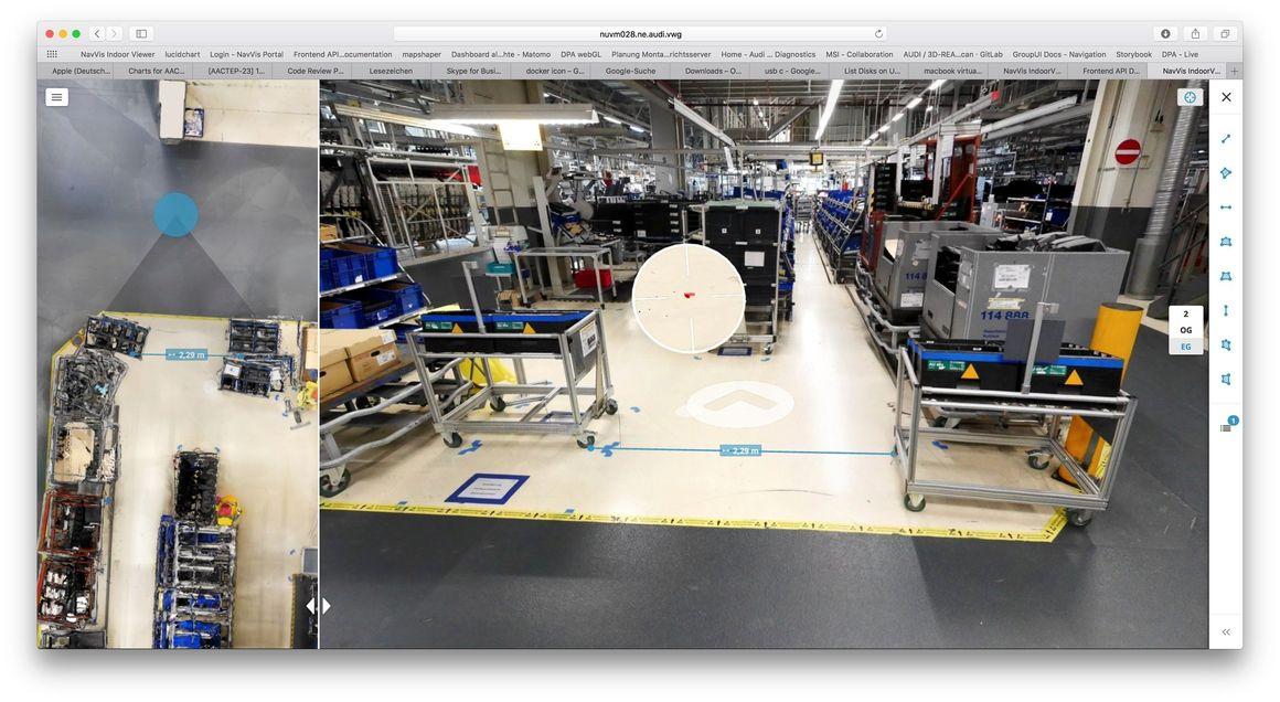 Digitale Planung von Produktionshallen