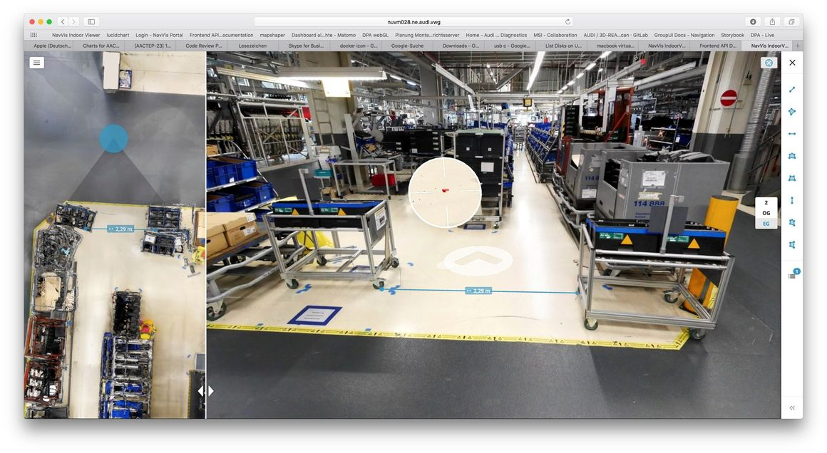 Digital planning of production halls