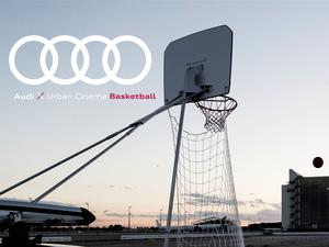 Audi Urban Cinema: Vier Ringe laden für Endrunde der Basketball-Bundesliga zum Public Viewing