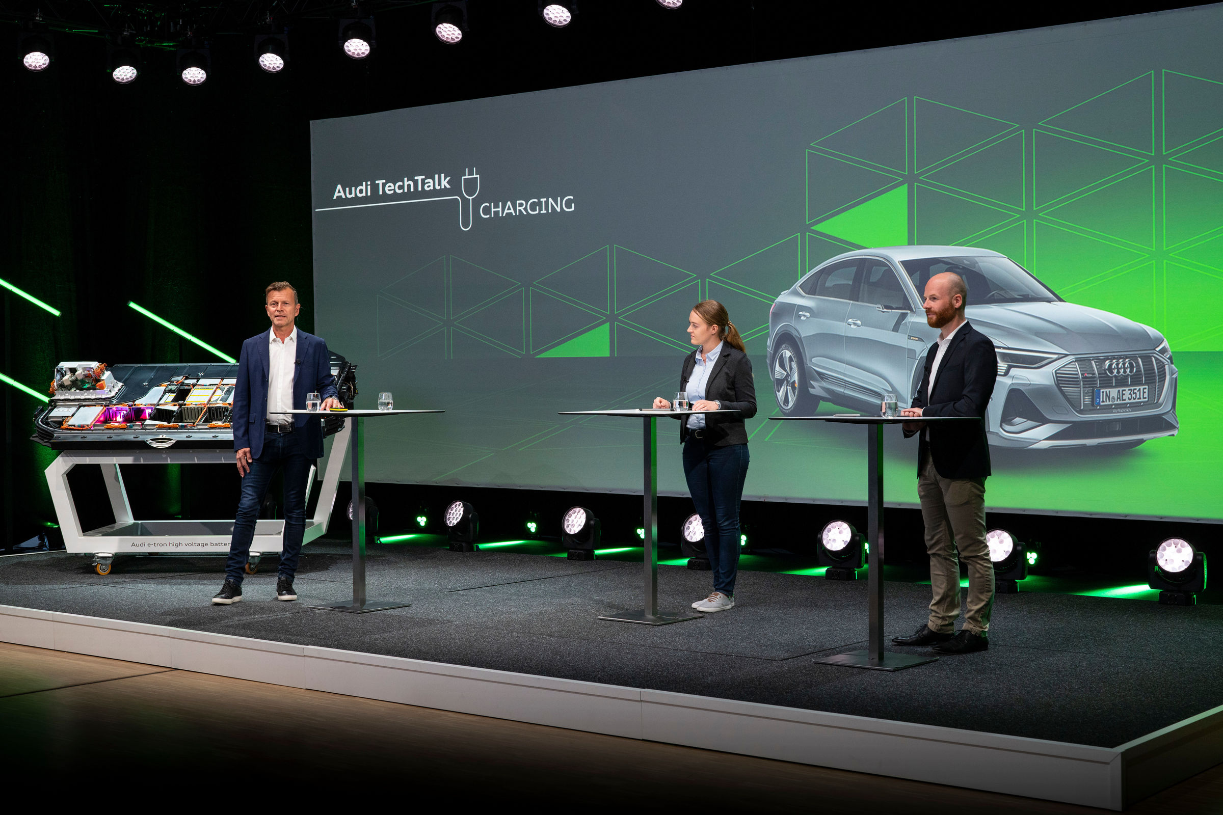 Audi TechTalk: Laden